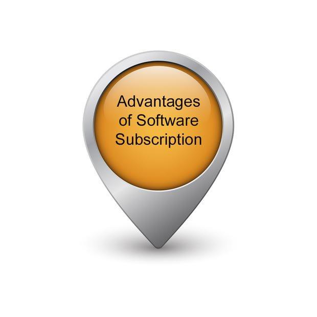 Advantages of Software Subscription