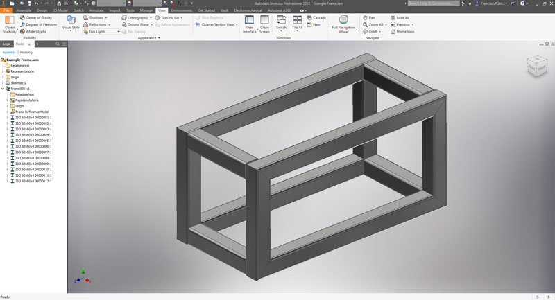 Accessing BOM in Inventor Assembly Environment