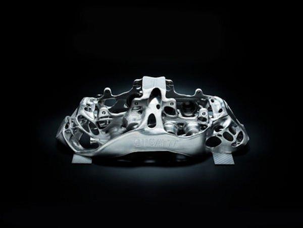 Generative Design of Bugatti Brake Calliper