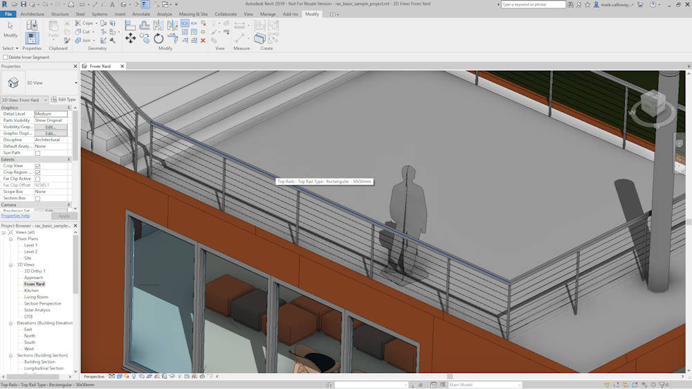 Revit 2019 New Features – Man and Machine