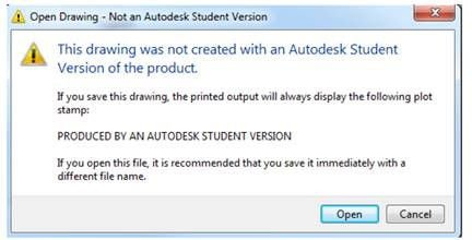 Educational Watermark returns to 2019 AutoCAD Products – Man