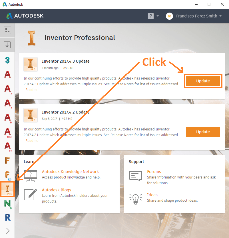 Autodesk Desktop App Image 4 – Man and Machine