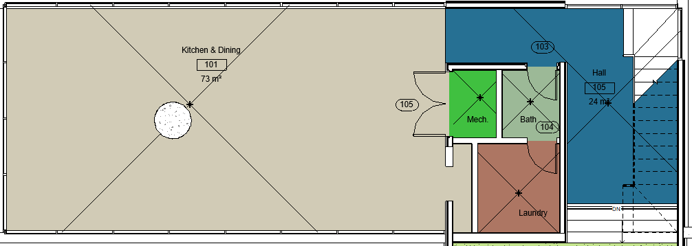 Open Plan Room Layout