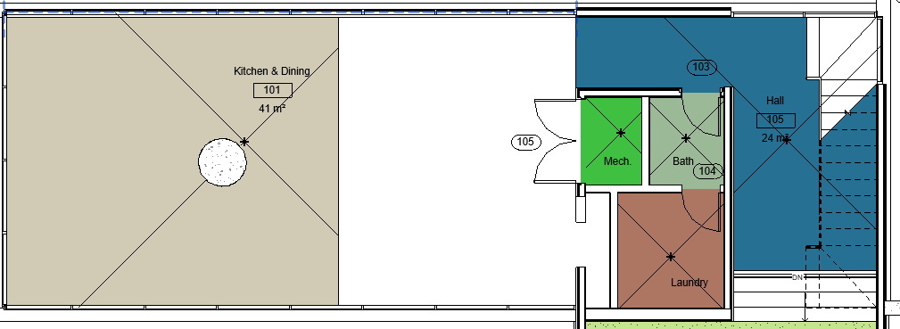 Room Separator Line