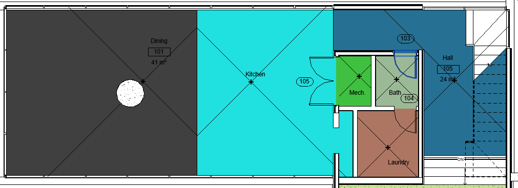 Room Separator Layout