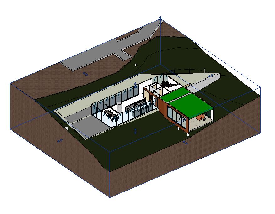 Arrangement of 3D Section Boxes