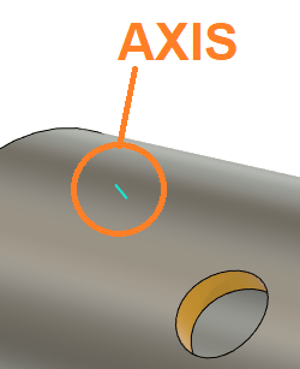 Axis Direction for Hole