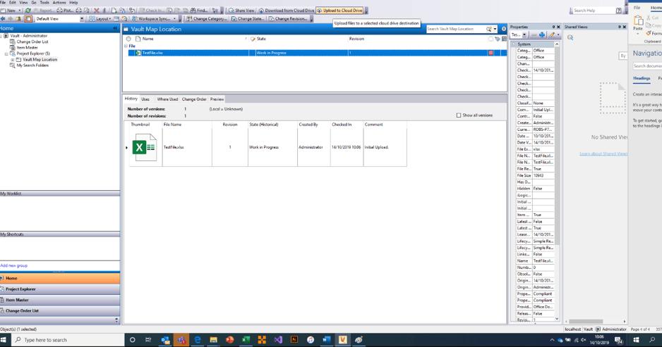 Sync Options File Upload