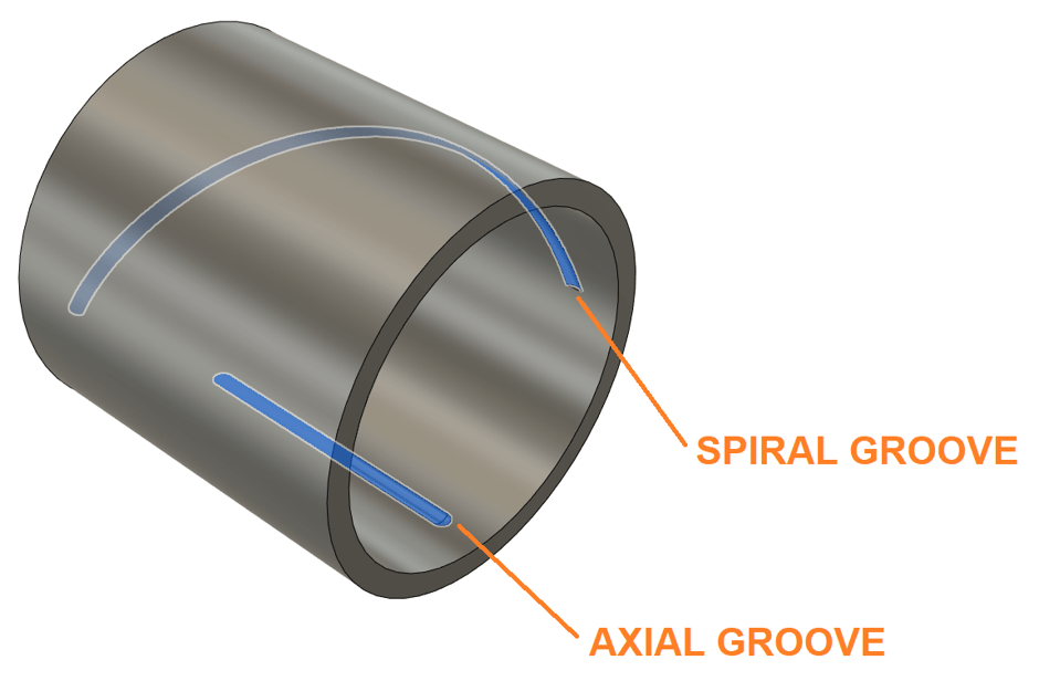 Fusion 360 CAM Cylinder Grooves