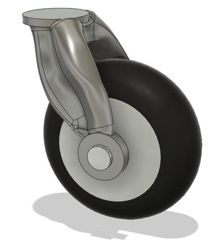 Shopping Trolley Wheel Design