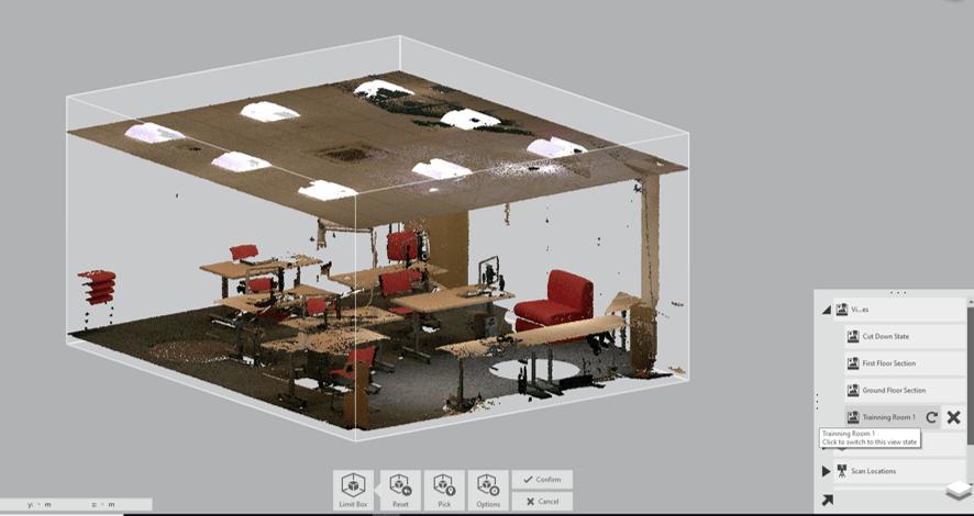 Training Room Scan RECAP