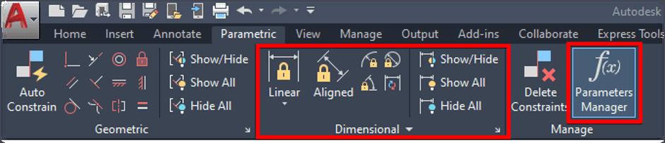 Parametric Settings